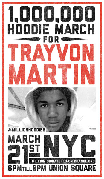 Million Hoodie March Poster