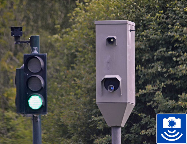 Speed Camera and Sign