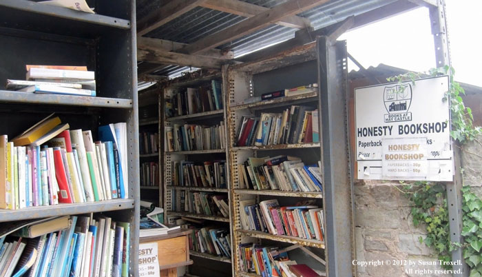Honesty Bookshop at Hay-on-Wye