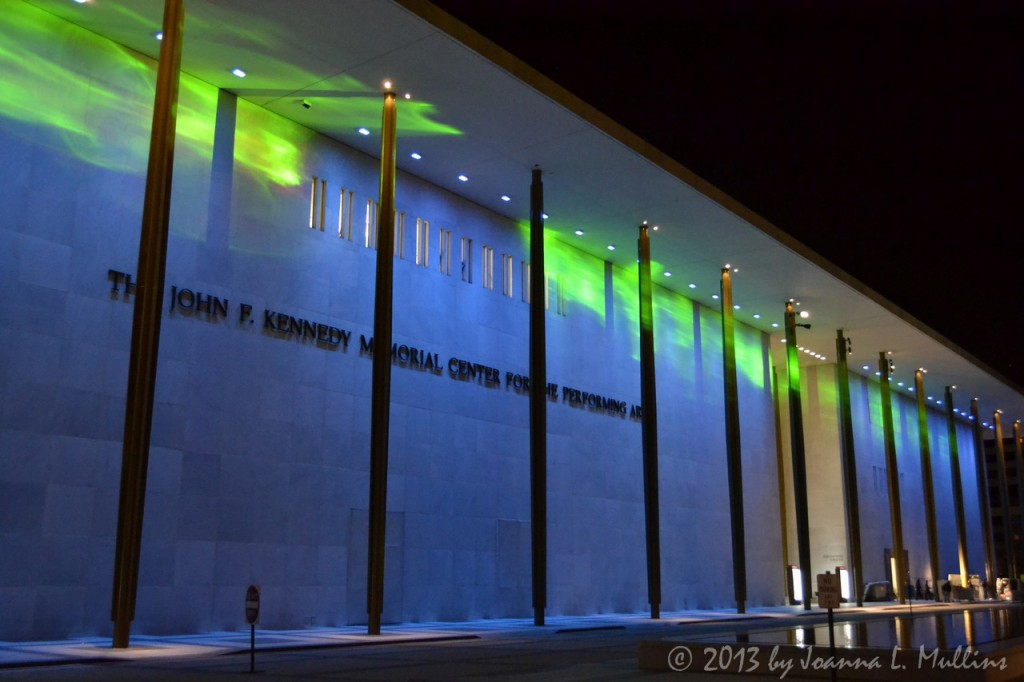 Kennedy Center Northern Lights