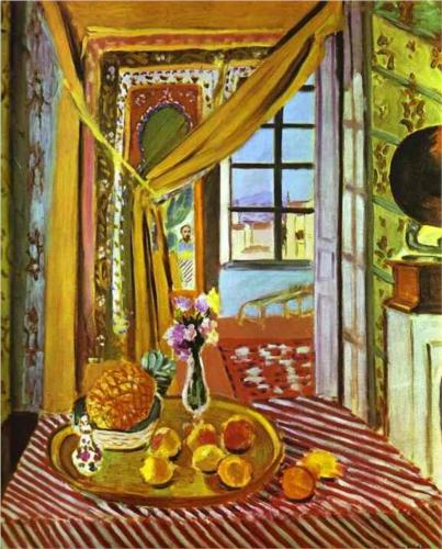 Interior with Phonograph - Matisse