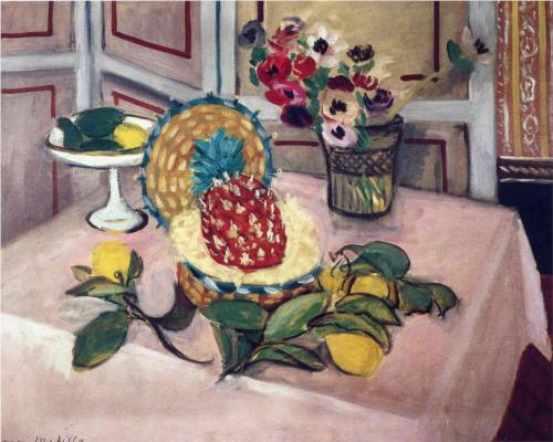 Still Life with Pineapples 2