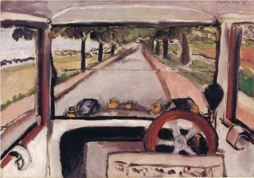 The Windshield 1917 - Matisse